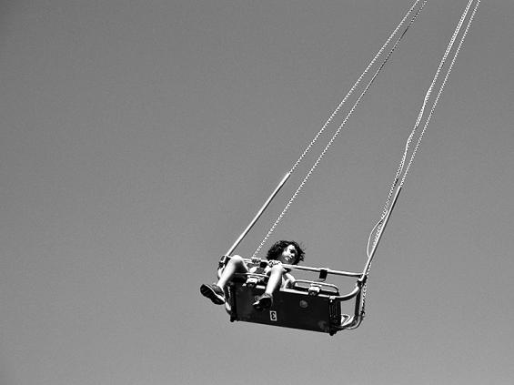Coney Island, Boy flying through air