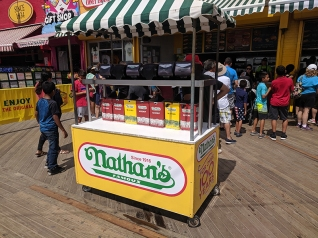 Coney Island, Condiments