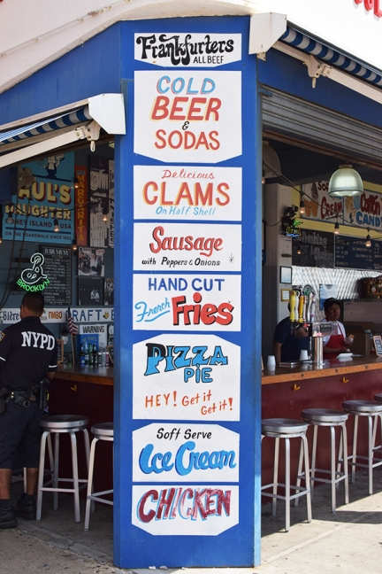 Coney Island, Paul's Daugher, Attractions