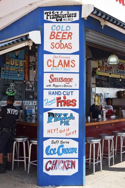 Coney Island, Paul's Daugher, Attractions