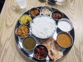 Kabob's 2, Fish thali