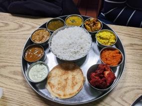 Kabob's 2, Non-veg thali