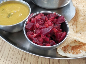 Kabob's, Beetroot poriyal