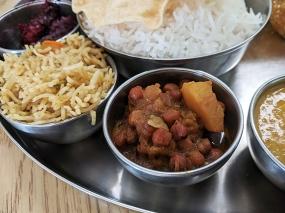 Kabob's, Chana Masala, Veg Biryani