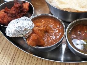 Kabob's, Chicken curry