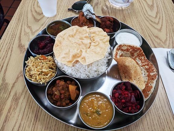 Kabob's, Non-veg thali