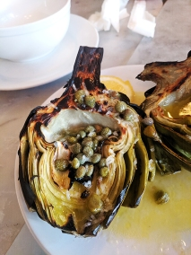 Motorino, Artichoke close-up