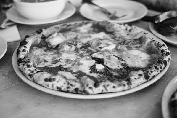 I took one of the Margherita as well before realizing my camera was still in black and white mode from Coney Island.
