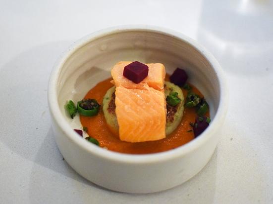 Tenant 4, Poached Salmon