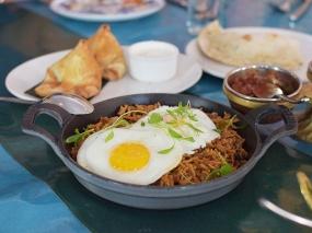 The Bombay Bread Bar, Bacon-Choriz Biryani