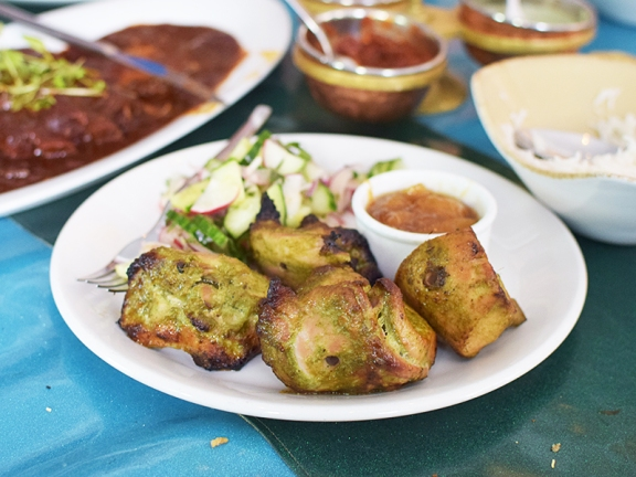 The Bombay Bread Bar, Chicken tikka
