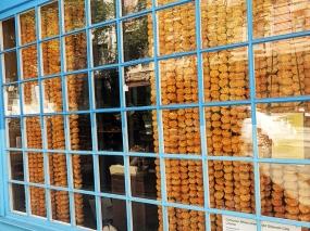 The Bombay Bread Bar, Marigold curtain