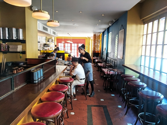 The Bombay Bread Bar, Past the counter