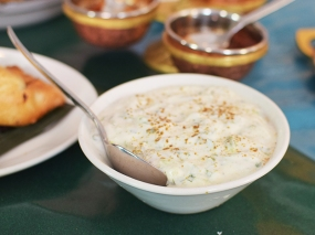 The Bombay Bread Bar, Raita