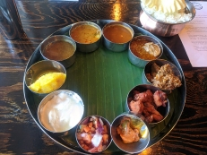 Kumar's Mess, Weekday lunch, Banana leaf