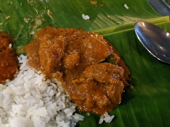 Kumar's Mess, Weekend lunch, Mutton curry