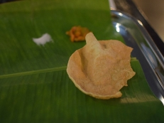 Kumar's Mess, Weekend lunch, Papad