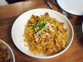 Lat14, Bacon Pineapple Fried Rice