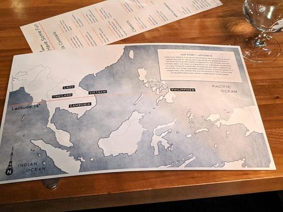 Lat14, Menu map