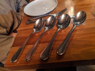 Lat14, Spoons