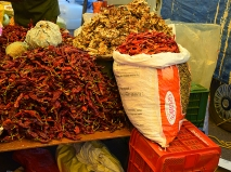 48. Assolna Market, Dried chillies