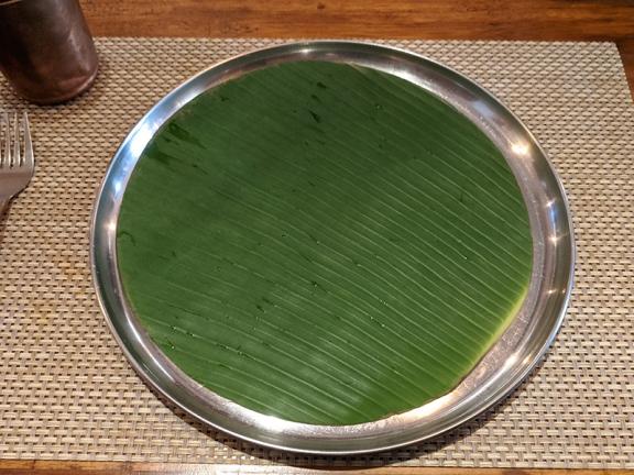 Bagundi 2, Banana leaf