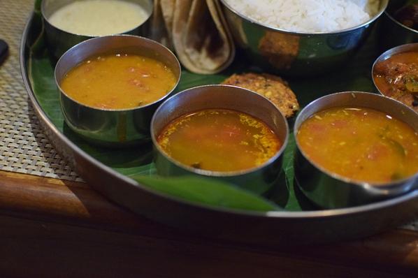 Bagundi 2, Dal, rasam, sambar