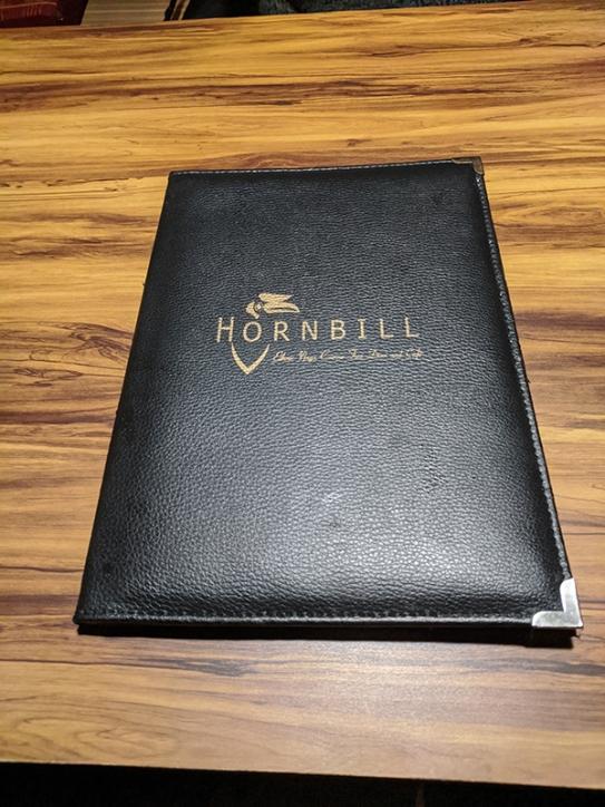 Hornbill, Menu