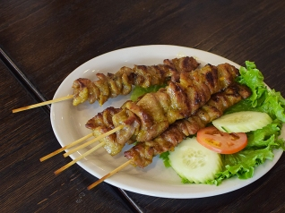 Krungthep Thai, Grilled Pork Skewers