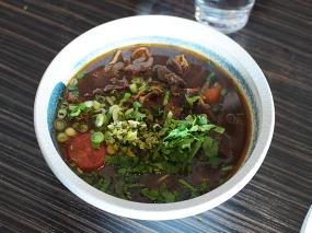 Magic Noodle, Taiwanese Tomato Beef Brisket Noodle Soup