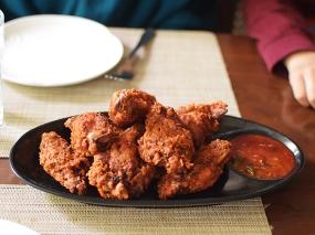 Nimtho, Nepali fried chicken