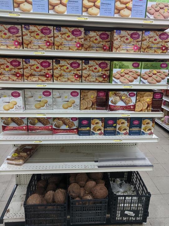 Bharat Bazaar, Biscuits, coconuts