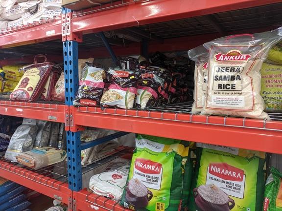Bharat Bazaar, More rice
