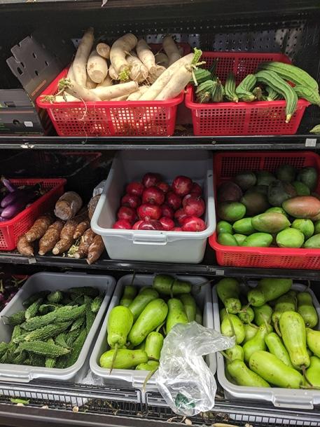 Bharat Bazaar, Various veg
