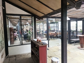 Cafe Lota, 2020, From outside