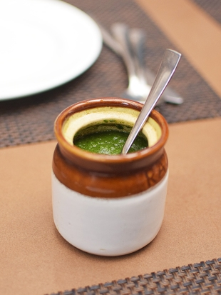 Cafe Lota, 2020, Green chutney