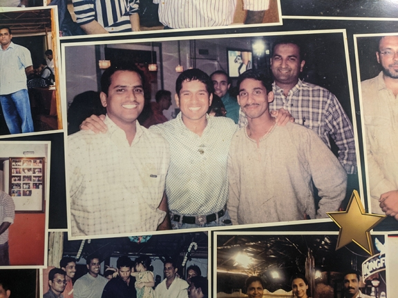 Martin's Corner, Famous guests, Sachin Tendulkar