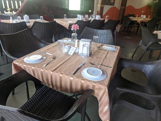 Martin's Corner, Table