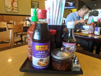 Pho Valley 2, Condiments