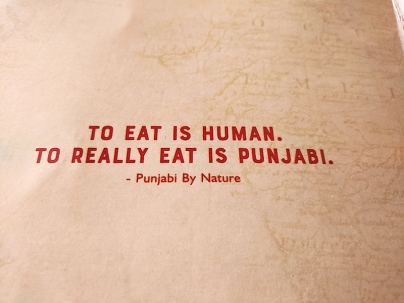 Punjabi By Nature 2, To Really Eat