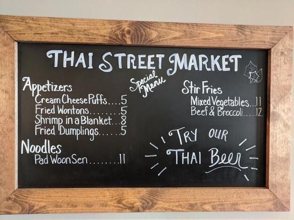 Thai Street Market, Specials