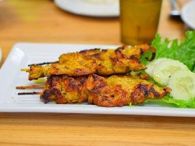 Bangkok Thai Deli 5, Chicken Satay