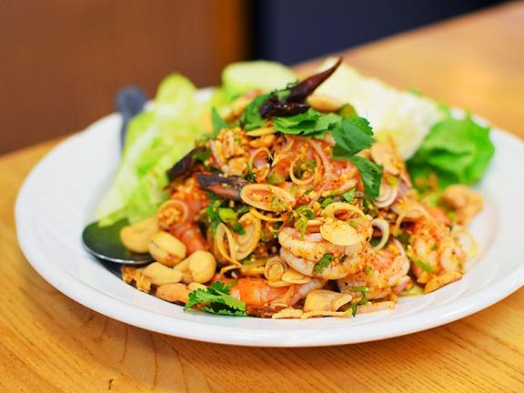 Bangkok Thai Deli 5, Lemongrass salad