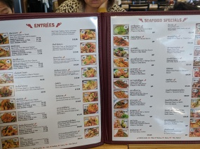 Bangkok Thai Deli 5, Menu, Entrees, Seafood Specials