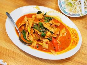 Bangkok Thai Deli 5, Thick Curry with Pork