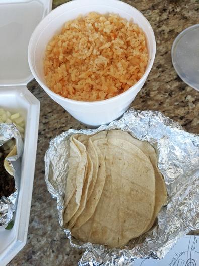 El Triunfo, Rice and Tortillas