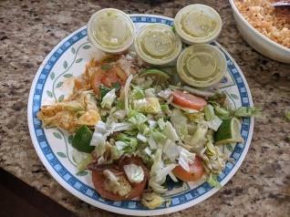 El Triunfo, Salad, salsa