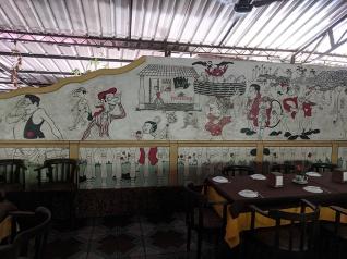 Fernando's Nostalgia, Mural