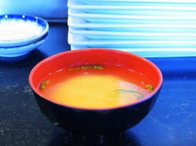 Sakura, Miso soup