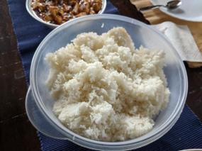 Grand Szechuan, Rice